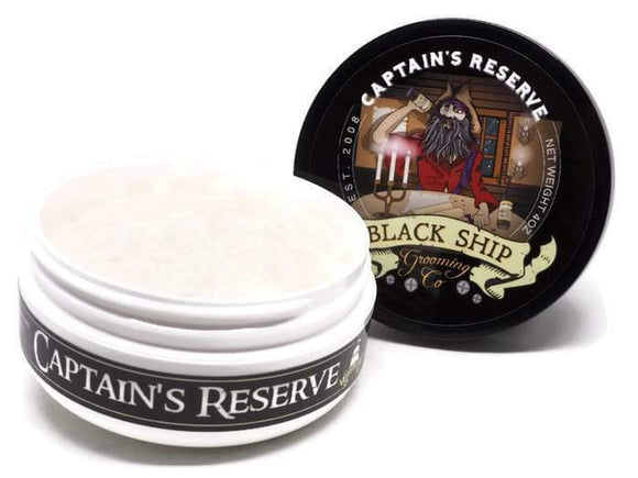 Black Ship Grooming Co. - Captin's Reserve - Shaving Soap