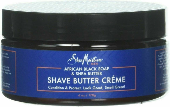 African Black Soap & Shea Shave Butter Creme, Shea Moisture, 6 oz