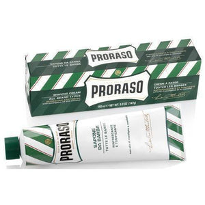 Proraso Shave Cream - Menthol And Eucalyptus - Cooling And Refreshing