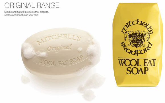 Mitchell's Original Wool Fat Soap - Bath Soap 150g Original Package
