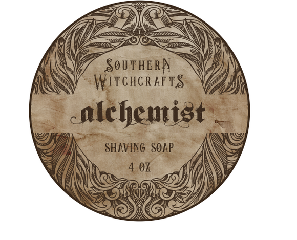 Southern Witchcrafts Shave Soap - Alchemist - Vegan