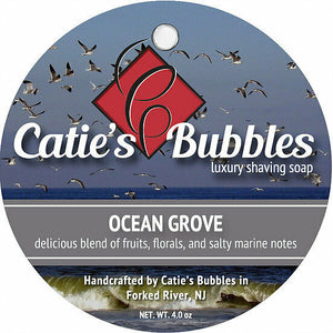 Catie's Bubbles - Ocean Grove - Luxury Shaving Soap 4oz