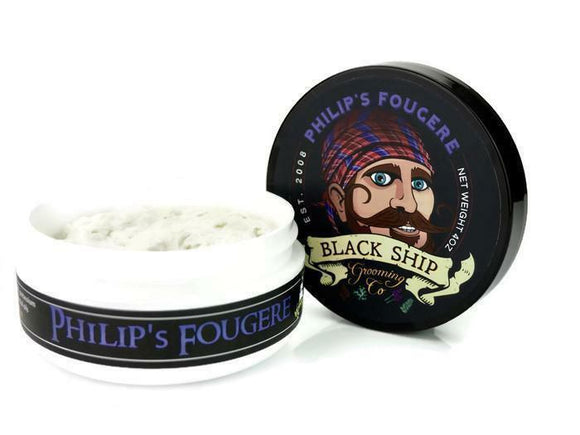 Black Ship Grooming Co. - Philip's Fougere - Shaving Soap
