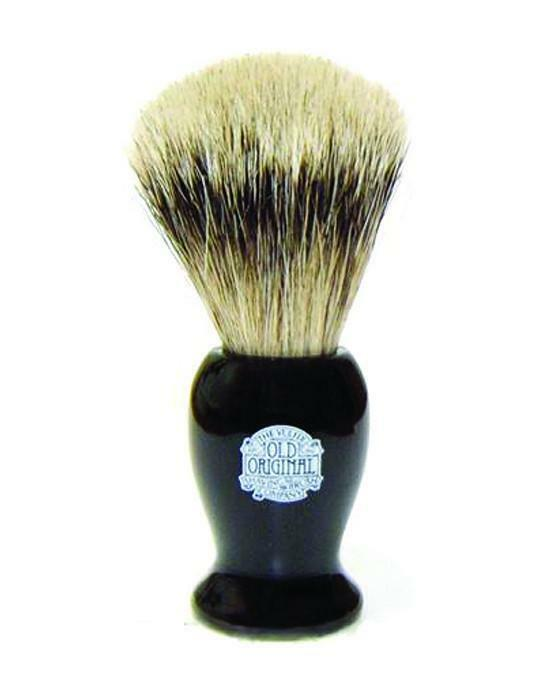 Progress Vulfix Super Badger Shaving Brush Medium Black Handle, Imported