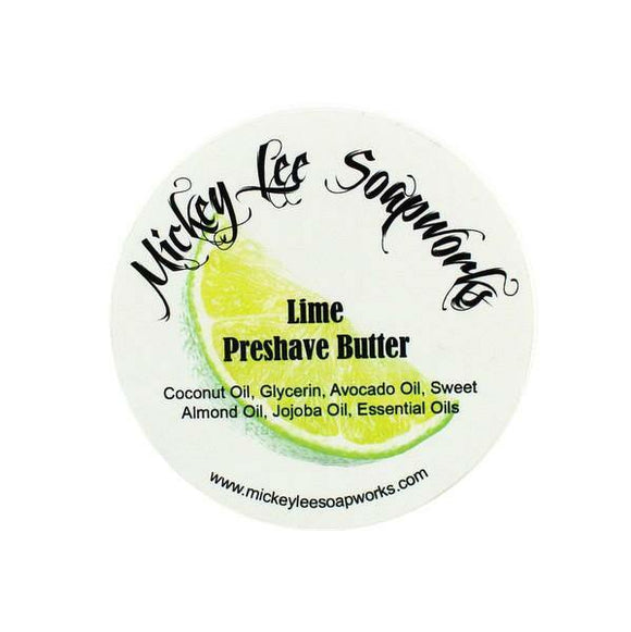 Mickey Lee Soapworks -Lime- Pre-Shave Butter