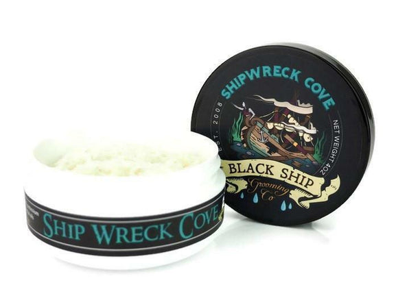 Black Ship Grooming Co. - Ship Wreck Cove - Shaving Soap