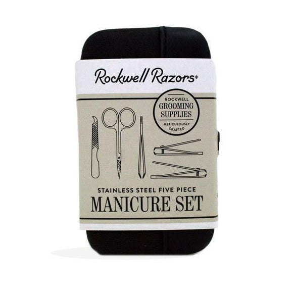 Rockwell Razors Stainless Steel 5 Piece Manicure Set