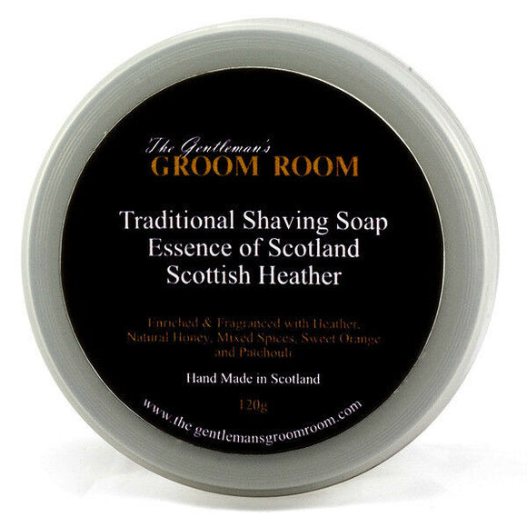 Essence of Scotland - Scottish Heather - Traditional Shaving Soap 120g