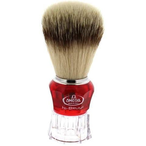 Omega HI-BRUSH Synthetic Shaving Brush 0140652