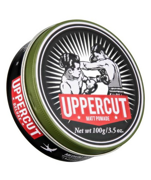 Uppercut Deluxe Matt Pomade Men's Hair Styling Product Pomade