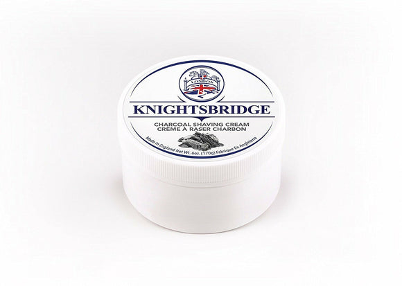 Knightsbridge - Charcoal Shaving Cream 170g