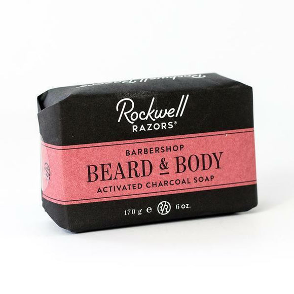 Rockwell Razors Beard And Body Bar Soap - Barbershop Scent