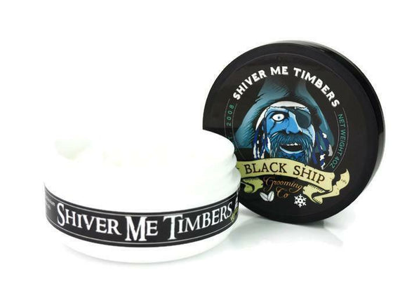 Black Ship Grooming Co. - Shiver Me Timbers - Shave Soap