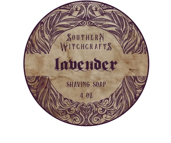 Southern Witchcrafts Shave Soap - Lavender - Vegan