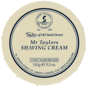 Taylor of Old Bond Street - Mr. Taylors Shaving Cream