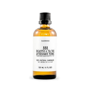 RazoRock 888 Eucalyptus And Tea Tree Aftershave Tonic