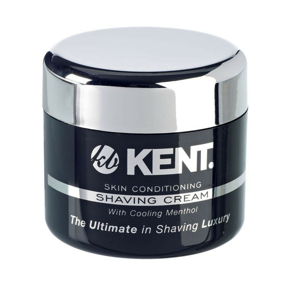 Kent Luxury Shaving Cream with Cooling Menthol 125ml