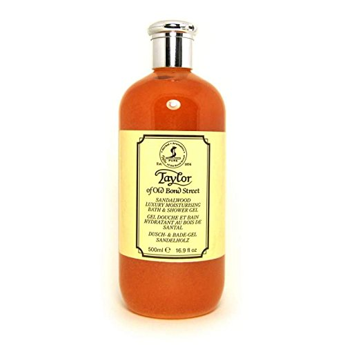 Taylor of Old Bond Street Sandalwood Moisturizing Bath and Shower Gel, 500 ml