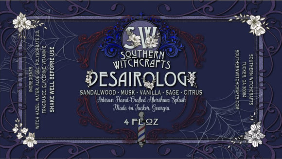 Southern Witchcrafts Aftershave Splash - Desairology