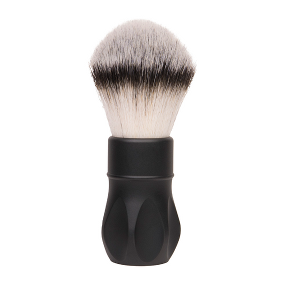 Alpha Brush & Shaving Co. - Outlaw V2 26mm Matte Black Shaving Brush