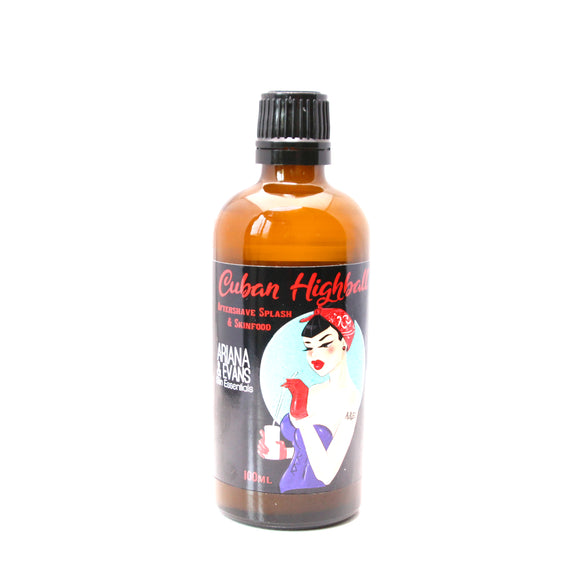 Ariana & Evans - Aftershave Splash - Cuban Highball