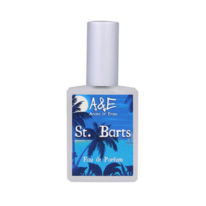 St. Barts beautifully blends lime, coconut and rum into a warm, creamy scent. Despite the notes, this does not smell like a boozy concoction or a gourmand. Rather, this high-end niche type fragrance smells like skin warmed by the sun and tropical islands.