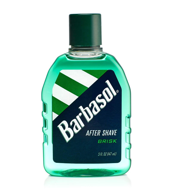 Barbasol Brisk After Shave is specially formulated to tone skin, help soothe razor burn and leave your skin feeling fresh and invigorated after shaving.   Features:  Tones skin after shaving Helps soothe razor burn and nicks Invigorates and refreshes skin Made in the USA with U.S. and Canadian parts Featured in 5 OZ size*