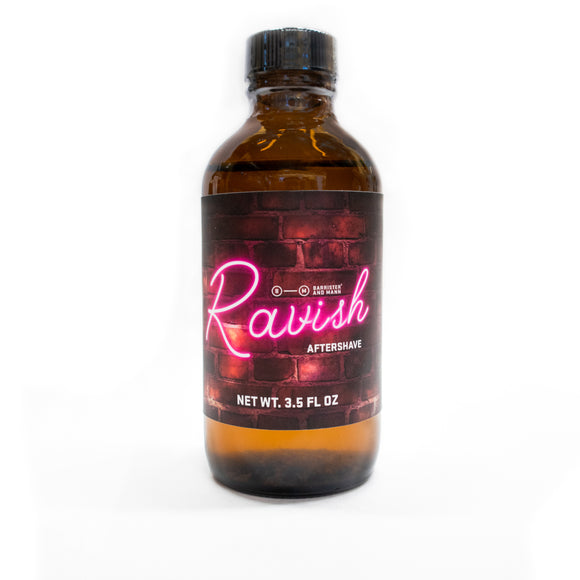 Barrister And Mann - Aftershave Splash - Ravish