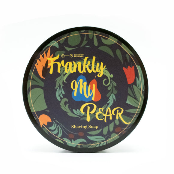 Barrister and Mann - Limited Edition Shaving Soap - Frankly My Pear