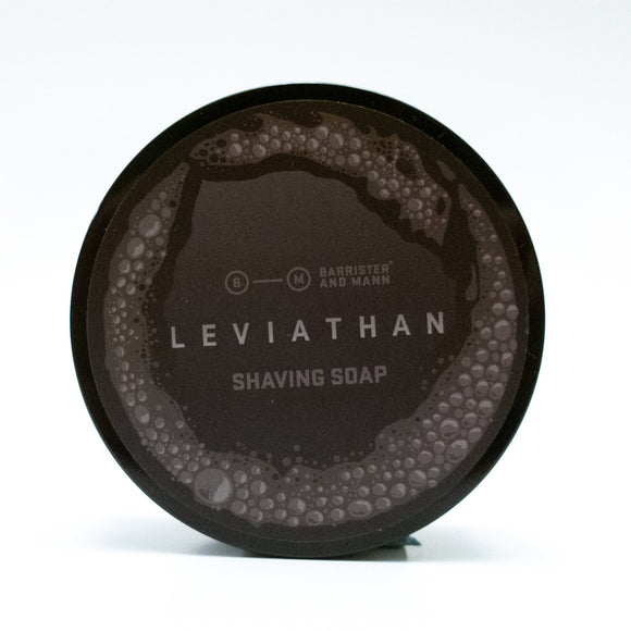 Barrister and Mann - Limited Edition Shaving Soap - Leviathan
