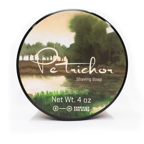 Barrister and Mann - Limited Edition Shaving Soap - Petrichor