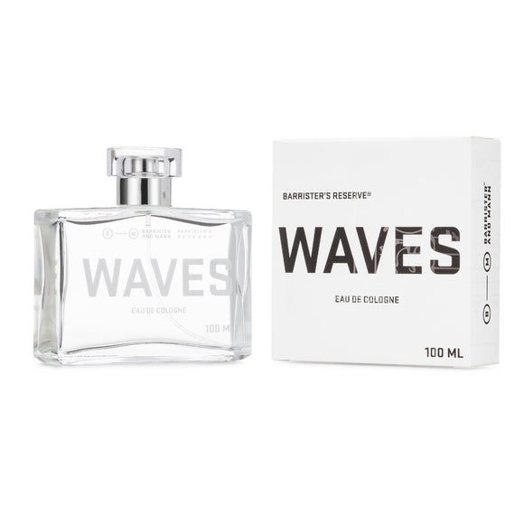 Barrister and Mann Barrister's Reserve® Waves Eau de Cologne,100ml