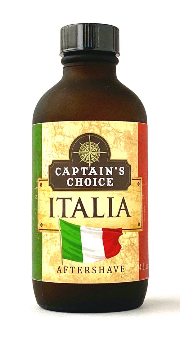 Captain's Choice - Aftershave Splash - ITALIA