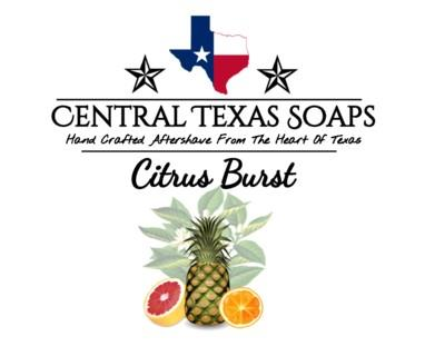 Central Texas Soaps - Aftershave Splash - Citrus Burst