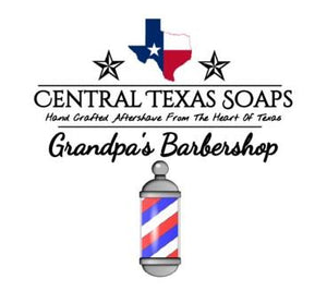 Central Texas Soaps - Aftershave Splash - Grandpa's Barbershop