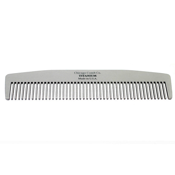 Chicago Comb - Model No. 3 - Titanium