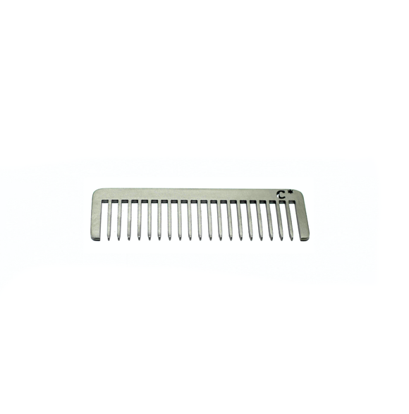 Chicago Comb - Model No. 5 - Standard Stainless Steel - Short