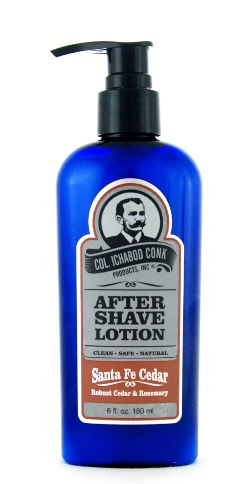 Col. Ichabod Conk After shave Lotion - Santa Fe Cedar