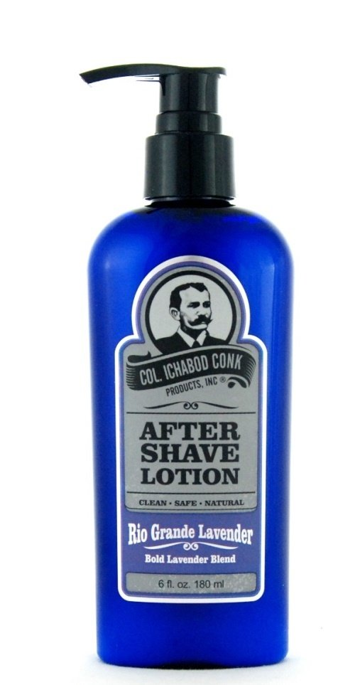 Col. Ichabod Conk After shave Lotion - Rio Grande Lavender