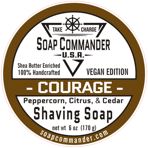 Soap Commander - Shaving Soap - Courage
