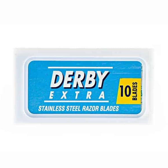 Derby - Stainless Steel Double Edge Safety Razor Blades - 10 Pack