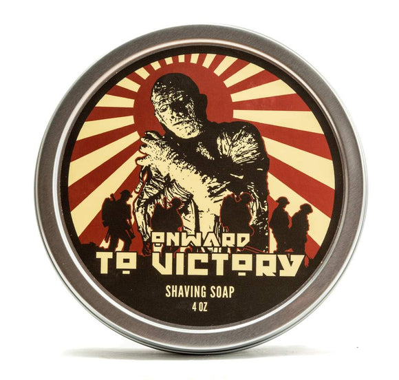 Dr. Jon's  - Vegan Shaving Soap - Onward To Victory