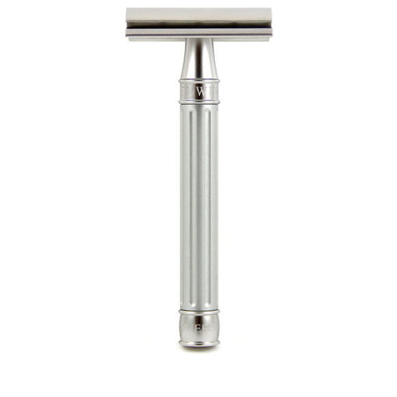 Edwin Jagger 3ONE6 Stainless Steel DE Safety Razor - Silver
