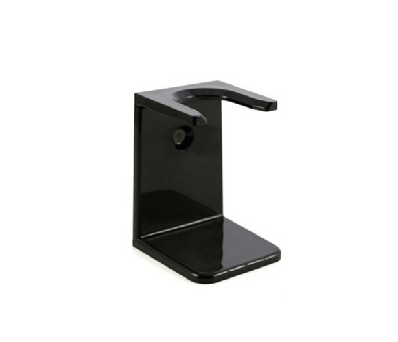 Edwin Jagger Black Brush Stand, Large RH6L