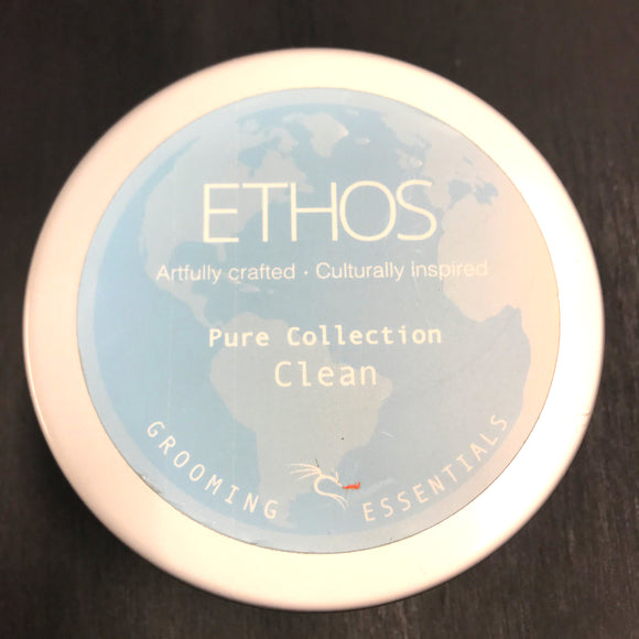 Ethos Grooming Essentials - Premium Shave Soap - Clean