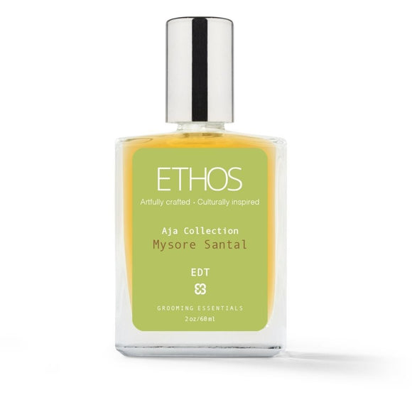 Ethos Grooming Essentials - Eau De Toilette (EDT) Cologne - Mysore Santal