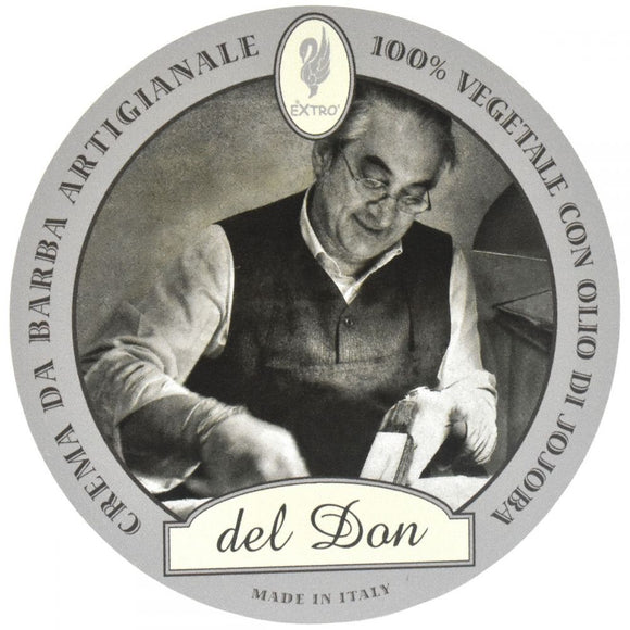 Extrò Cosmesi shaving creams are handmade by Donatao Ciniello the old fashioned way, in Settimo, Torinese, Italy. Free of parabens and alcohol these artisan shaving creams include vegetable-based ingredients, making them ideal for sensitive skin sufferers.