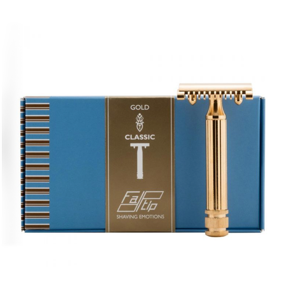 Fatip - Open Comb Gold Safety Razor - 42115