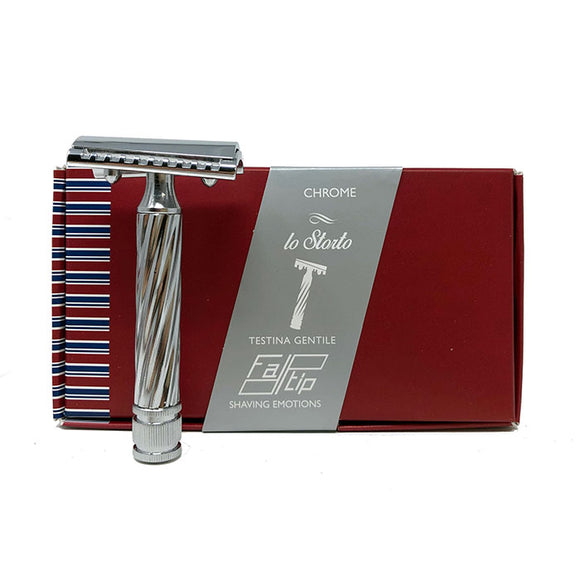 Fatip - Slant Closed Comb. Safety Razor Lo Storto Made in Italy - 42139