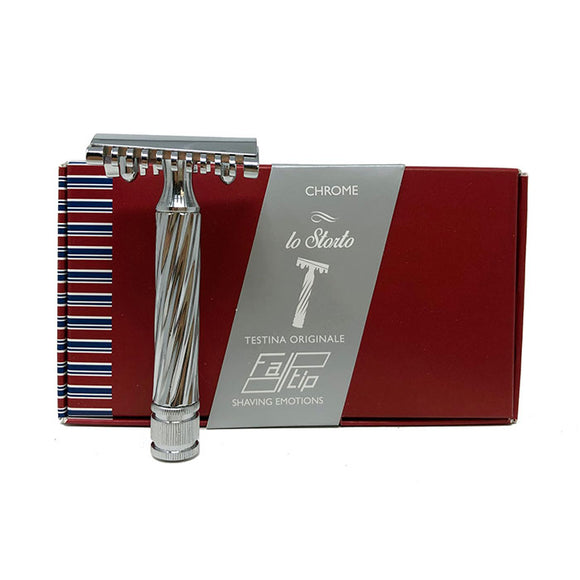 Fatip - Slant Open Comb Safety Razor Lo Storto Made in Italy - 42138
